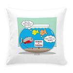 Piranha Guard Fish Everyday Pillow