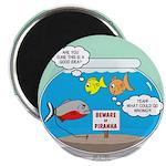 Piranha Guard Fish Magnet