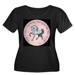Keep Prince Charming Horse Women's Plus Size Scoop