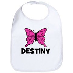 Butterfly - Destiny Bib