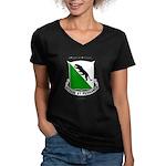 2-69 Armor Women's V-Neck Dark T-Shirt