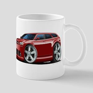 Dodge Magnum Maroon Car Mug