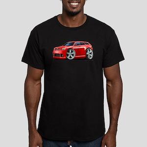 Dodge Magnum Red Car Men's Fitted T-Shirt (dark)