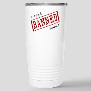 Banned Books Stainless Steel Travel Mug