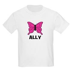 Butterfly - Ally Kids T-Shirt