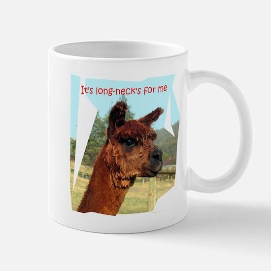 It's long-necks for me Mug