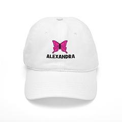 Butterfly - Alexandra Baseball Cap