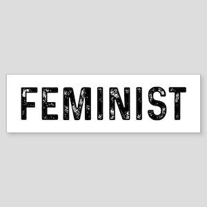 Feminist Sticker (Bumper)