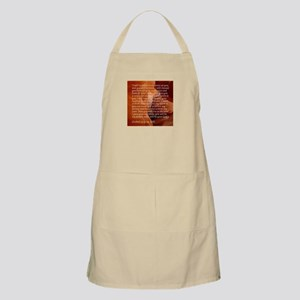 Ezekiel 36 - New Heart - Bible verses Light Apron