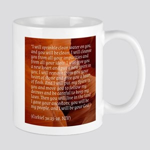 Ezekiel 36 - New Heart - Bible verses Mugs