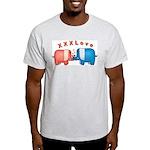 Elephants Love Ash Grey T-Shirt