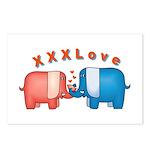 Elephants Love Postcards (Package of 8)