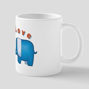 Elephants Love Mug