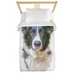 Border Collie Twin Duvet Cover