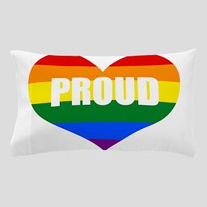 PROUD HEART (Rainbow) Pillow Case