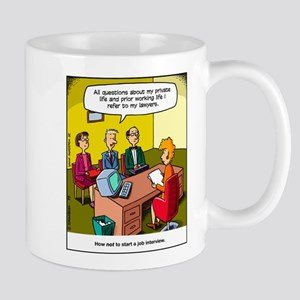 Job interview Mug