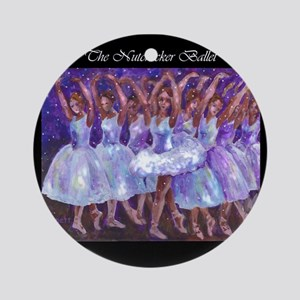 Nutcracker Dancers Ornament (Round)