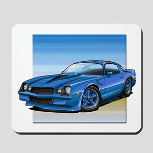 '78-81 Camaro Blue Mousepad