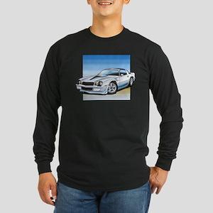 '78-81 Camaro White Long Sleeve Dark T-Shirt