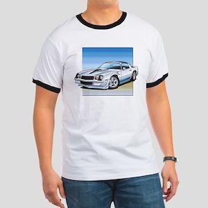'78-81 Camaro White Ringer T