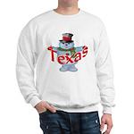 Texas Snowman Sweatshirt