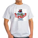Texas Snowman Light T-Shirt
