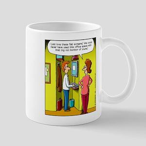 Flat Screen Mug