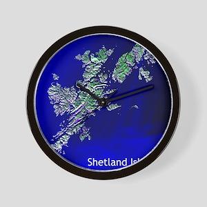 Shetland Islands Wall Clock