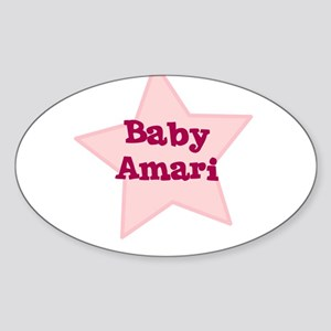 Baby Amari Oval Sticker