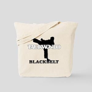 TKD Black Belt Tote Bag