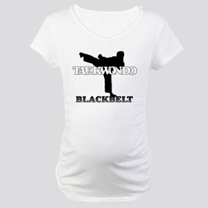 TKD Black Belt Maternity T-Shirt