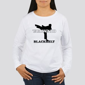TKD Black Belt Women's Long Sleeve T-Shirt