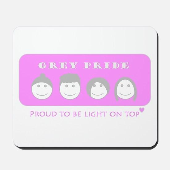 Lady Grey Pride Mousepad