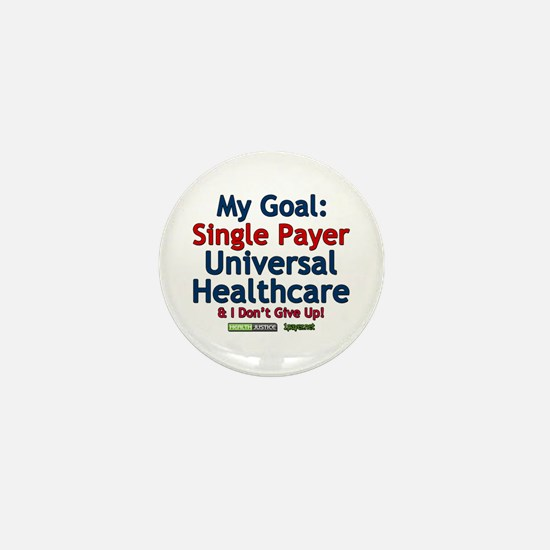 Single Payer Mini Button