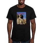 Wisdom Men's Fitted T-Shirt (dark)