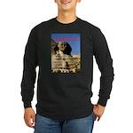 Wisdom Long Sleeve Dark T-Shirt