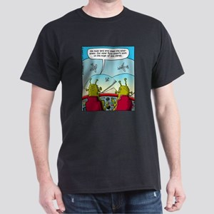 Alien Windshield Trouble Dark T-Shirt