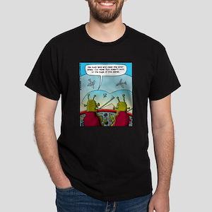 Alien Windshield Trouble Dark T-Shirt