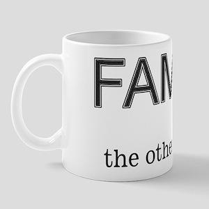 Family F-Word Mug