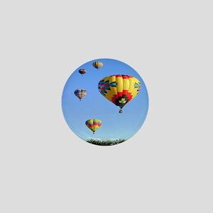 Five Balloons Mini Button