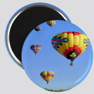 Five Balloons Magnet