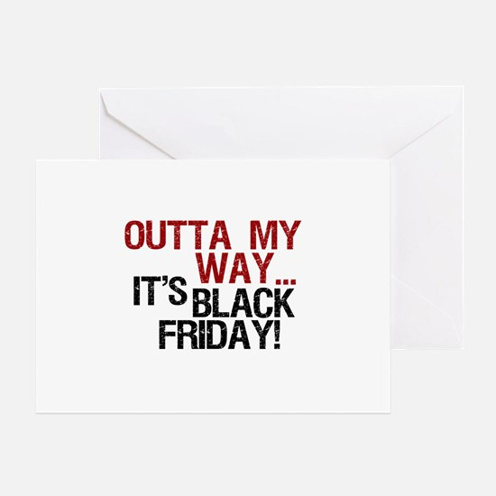 It's Black Friday Greeting Card