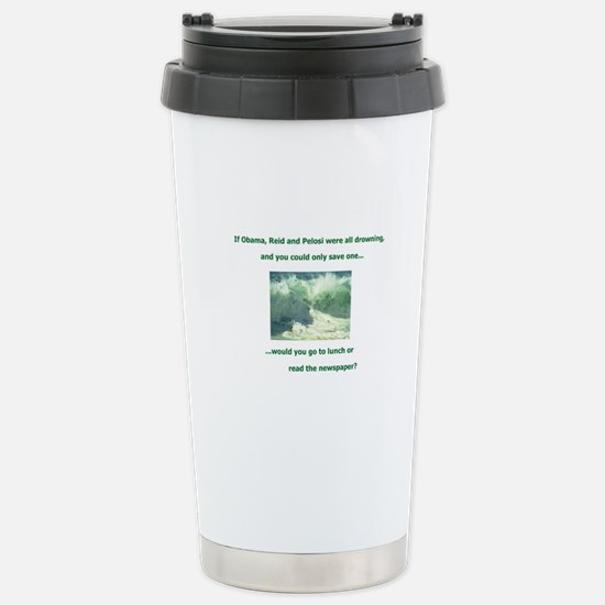 What would YOU do?! Stainless Steel Travel Mug