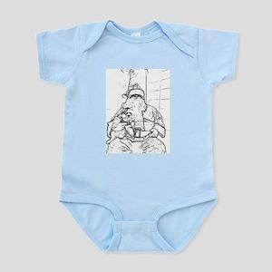 Color Me Santa Infant Creeper