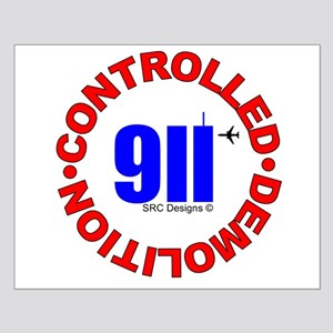 911 CONSPIRACY CONTROLLED DEM Small Poster