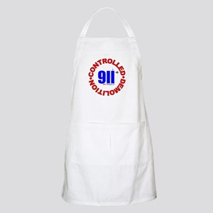 911 CONSPIRACY CONTROLLED DEM BBQ Apron
