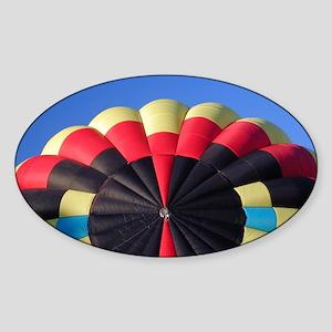 Big Top Balloon Oval Sticker