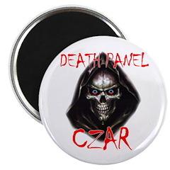 "Obama's Death Panel Czar 2.25"" Magnet (10 pac"