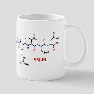 Arjun name molecule Mug
