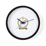 GAUDIN Family Crest Wall Clock